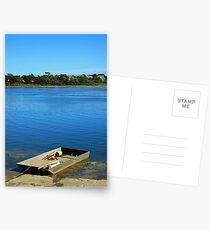 www.lizgarnett.com - Etang de Toulvern, Baden, Golfe du Morbihan Postcards