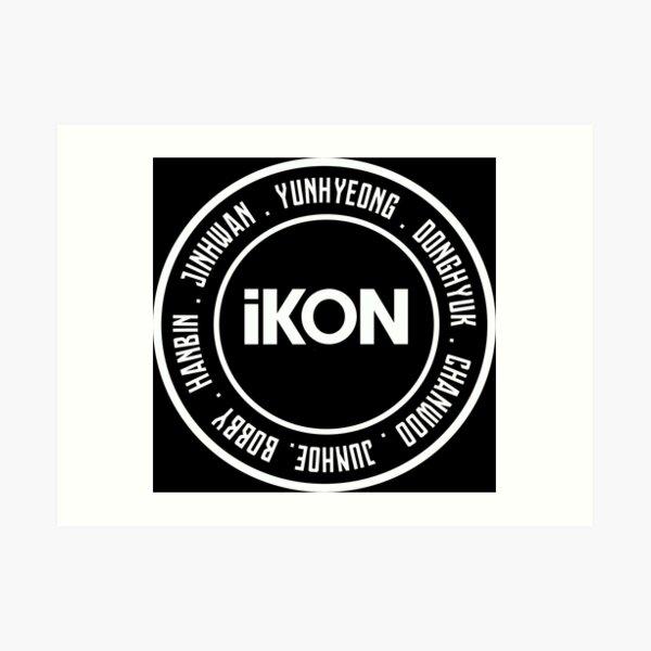 iKON OT7 Art Print