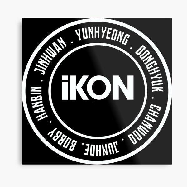 iKON OT7 Metal Print