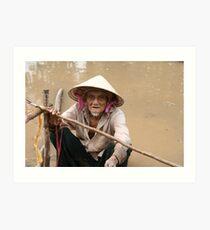 Faces of Vietnam Art Print