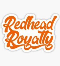 Redhead Royalty Sticker