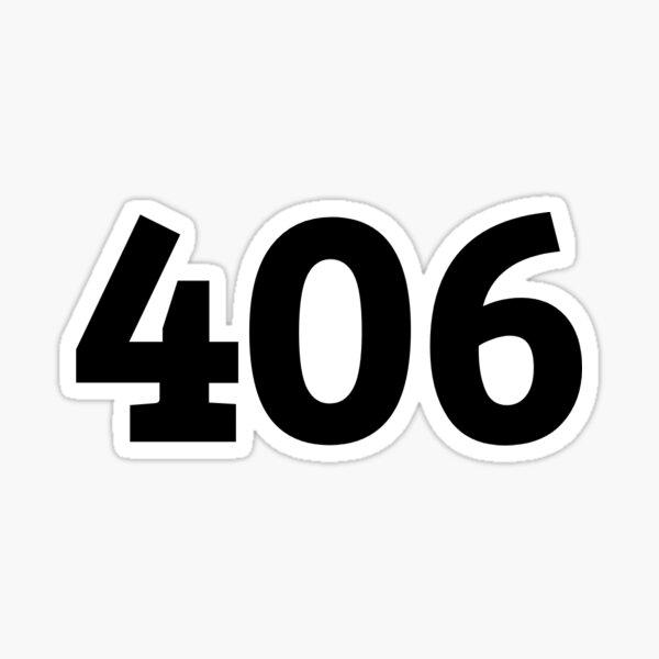 406 Sticker