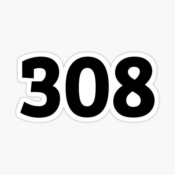 308 Sticker