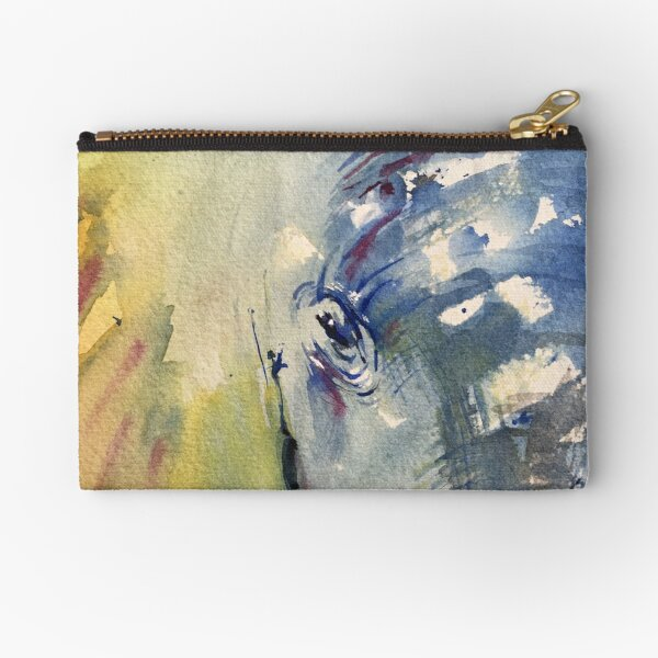 Elephant in the Room Zipper Pouch