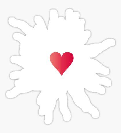 War of the Heart Sticker