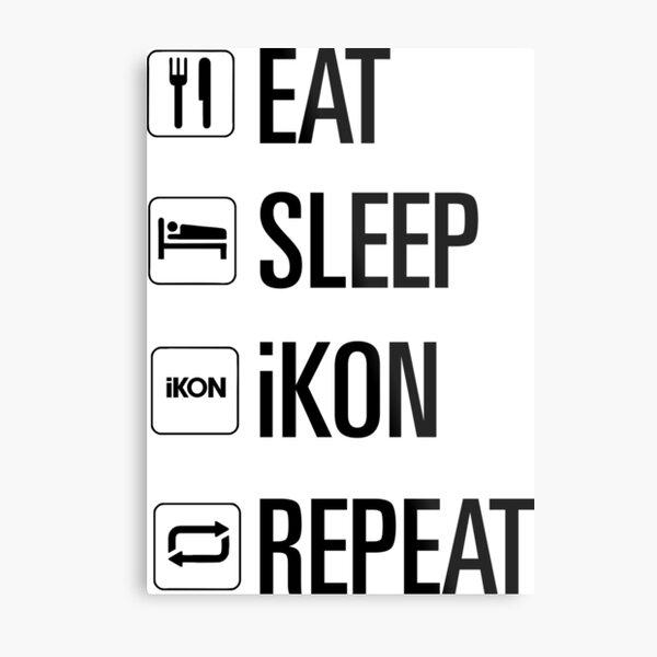 iKON only Metal Print
