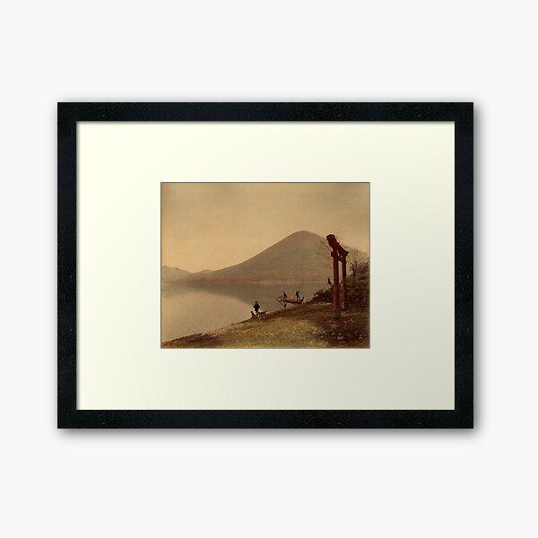 Chiusenji lake, Japan Framed Art Print