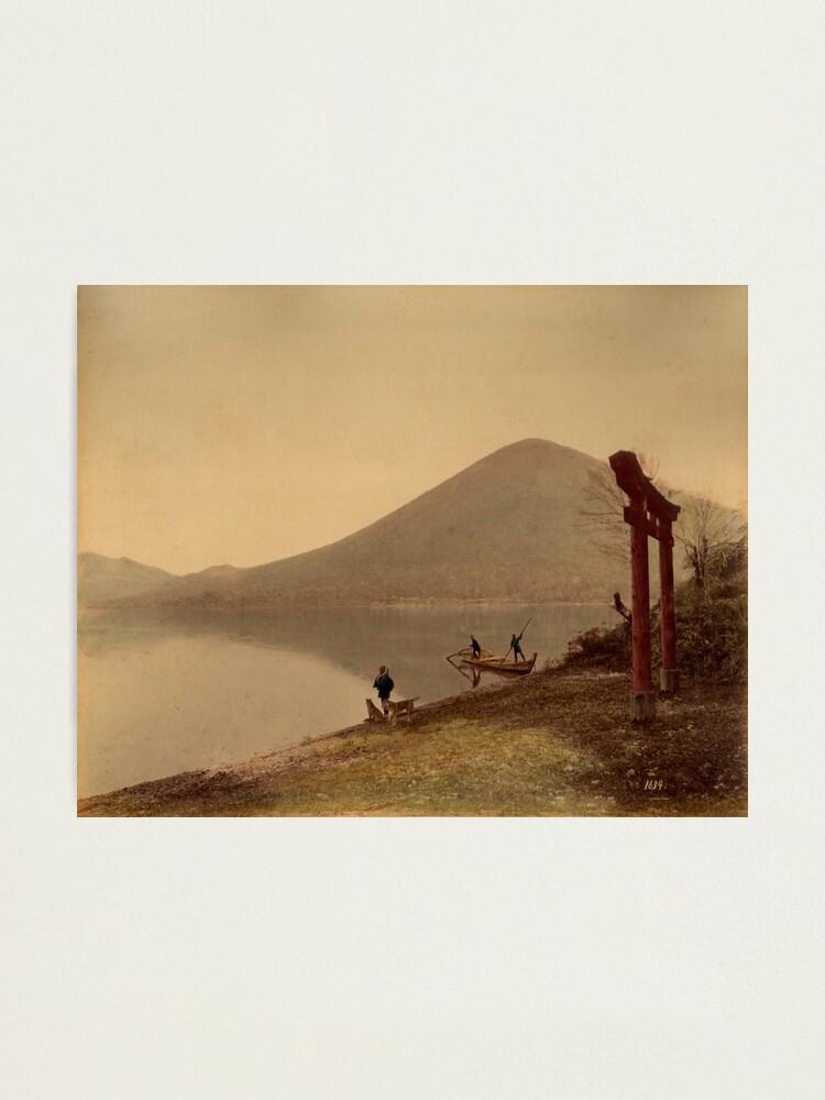 Alternate view of Chiusenji lake, Japan Photographic Print