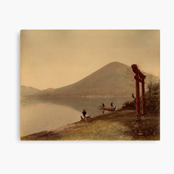 Chiusenji lake, Japan Canvas Print