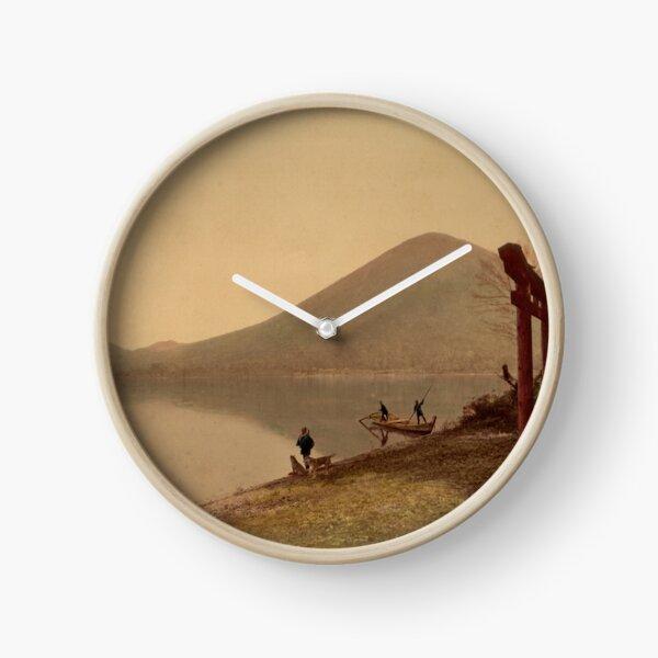Chiusenji lake, Japan Clock