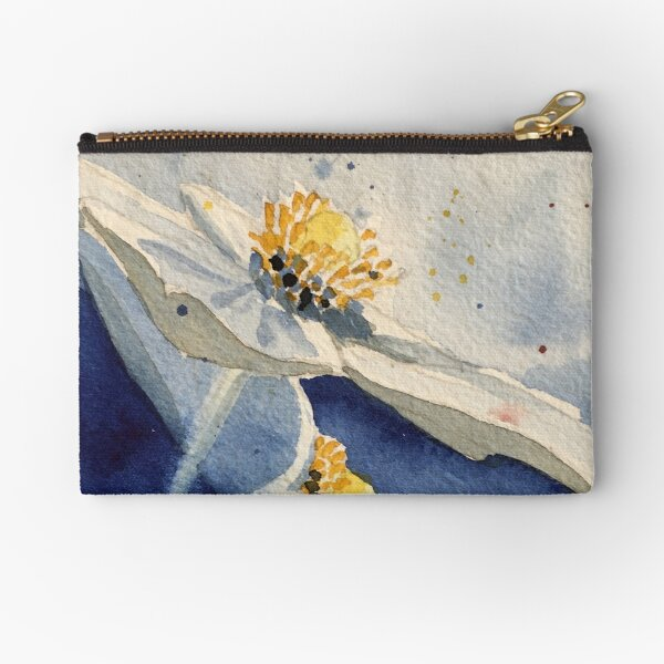 Anenome in Blue Zipper Pouch