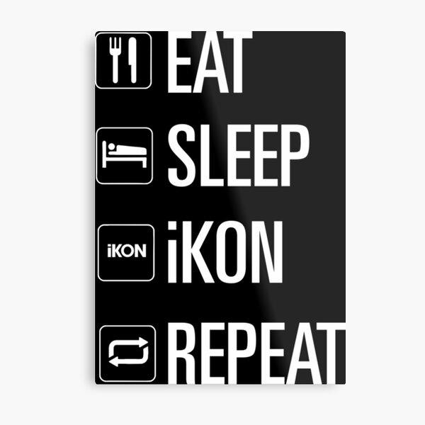 only iKON Metal Print