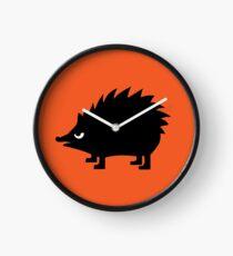 Angry Animals: hedgehog Clock