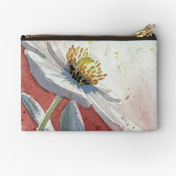 Anenome in Pink Zipper Pouch