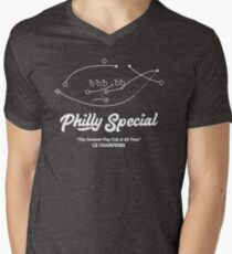 Philly special Lii champions Men's V-Neck T-Shirt