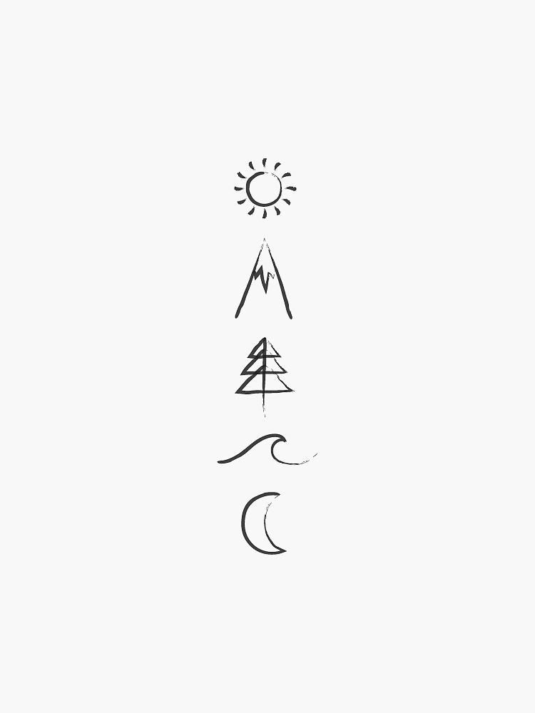 Earthly Symbols by MacrocosmDesign