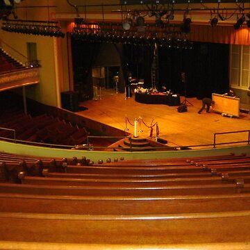 Inside Ryman Auditorium, Nashville, Tennessee by AuntDot