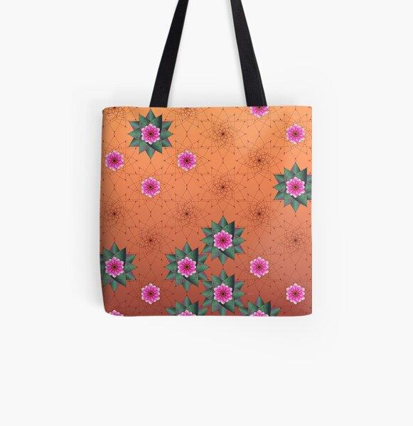 Blooming Desert Allover-Print Tote Bag