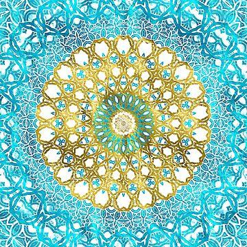 Mandala Gold Spring by ZedEx