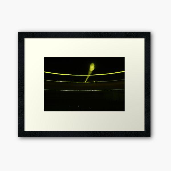 Lunar Orbit Framed Art Print