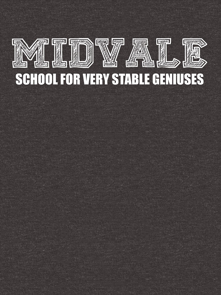 Midvale School for Very Stable Geniuses by infinitedrifter