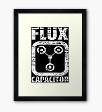 Flux Capacitor Framed Print