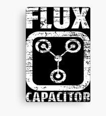 Flux Capacitor Canvas Print