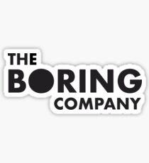The Boring Company Sticker