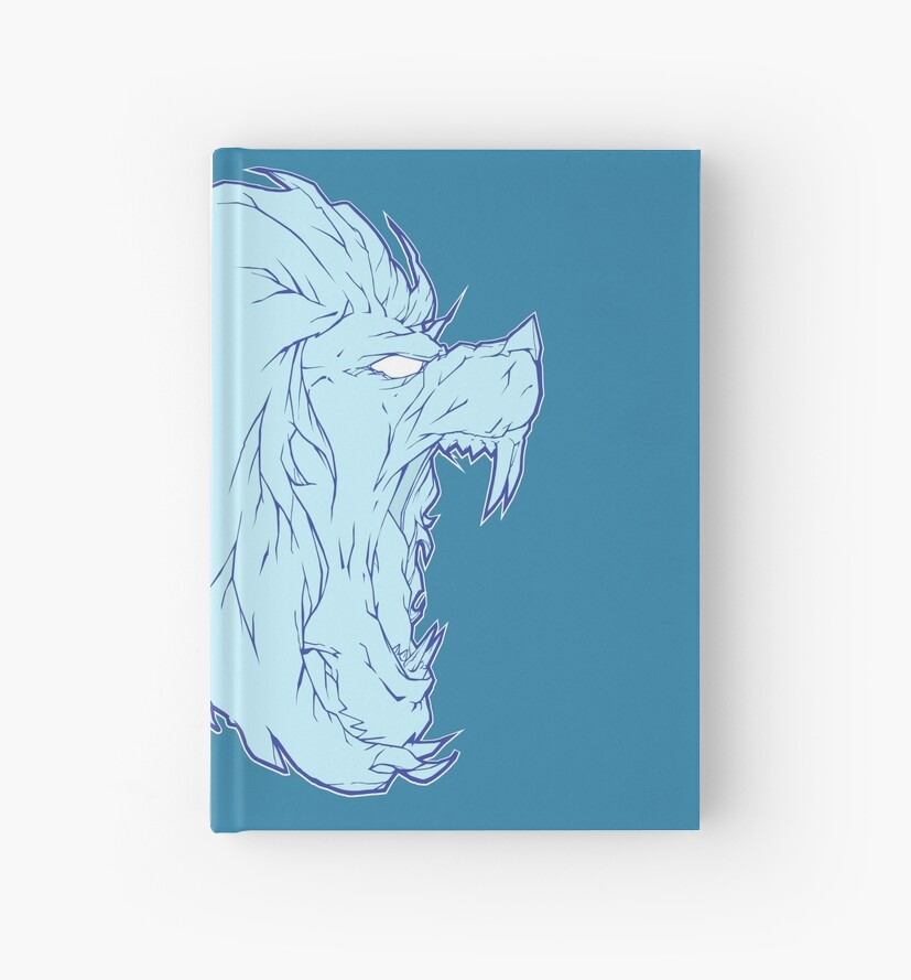 Ice lion by Hadrion