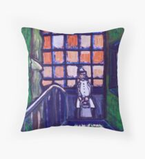 Maid of all work Throw Pillow