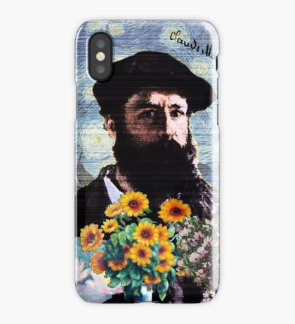 Claude Monet Mashed iPhone Case