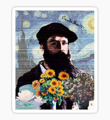 Claude Monet Mashed Sticker