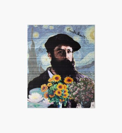 Claude Monet Mashed Art Board