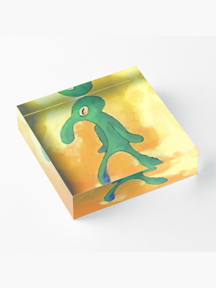 Alternate view of Old Bold and Brash Acrylic Block