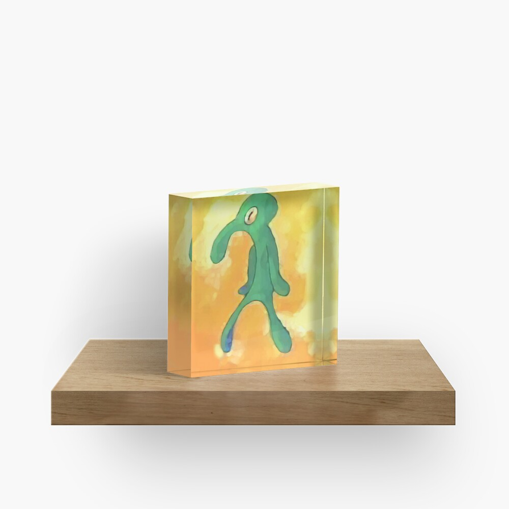Old Bold and Brash Acrylic Block