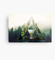 Tri-Force Metal Print
