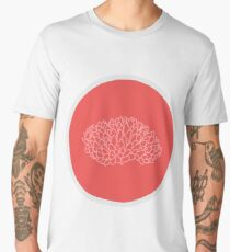 Pink Acopora Coral Men's Premium T-Shirt