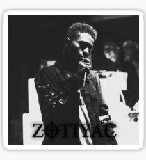 Zotiyac Underground rapper blackball crowlife Sticker