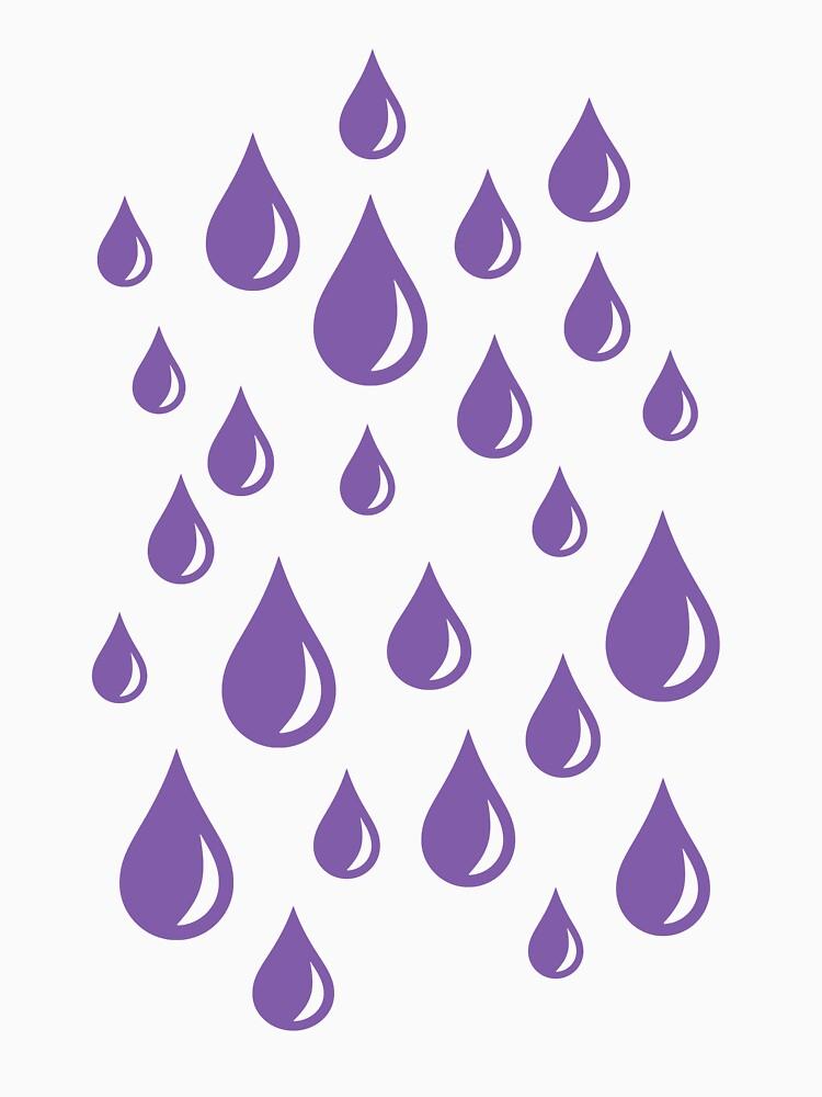 Purple Rain Drops V.2 by notsniwart