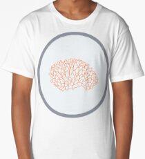 Orange Acopora Coral Long T-Shirt