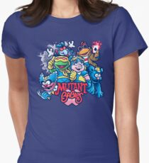 Mutant Babies Women's Fitted T-Shirt