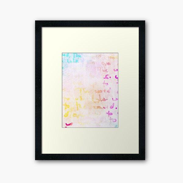 The Proof  Framed Art Print