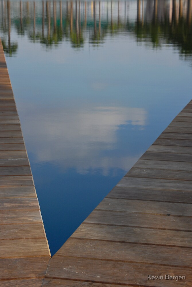 Blue V by Kevin Bergen