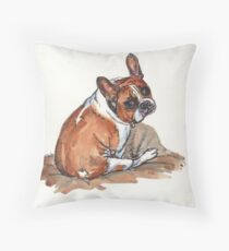 Winston. Throw Pillow