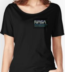Aesthetic Nasa Women's Relaxed Fit T-Shirt