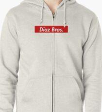 Diaz Brothers Zipped Hoodie
