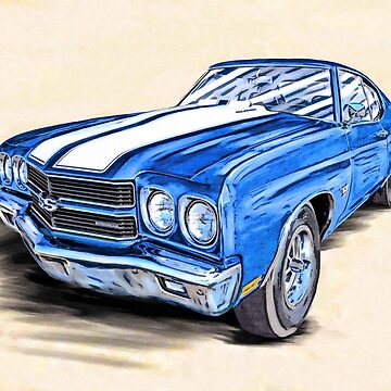 Classic 1970 Chevelle SS - American Muscle Car by marksda1