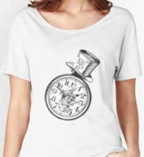 Alice in Wonderland Ticking tock Women's Relaxed Fit T-Shirt