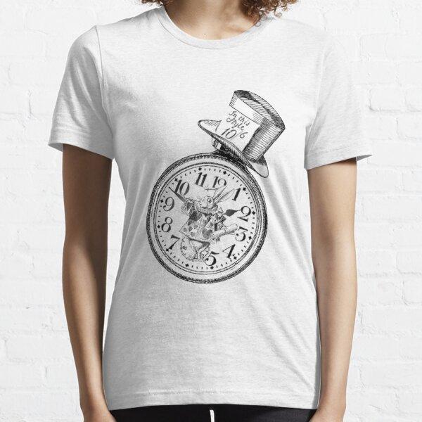 Alice in Wonderland Ticking tock Essential T-Shirt