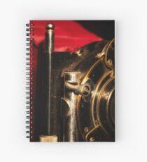Scarlet a vintage Kodak Folding Camera retro art Spiral Notebook